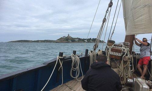 Petite croisière vers les îles Chausey