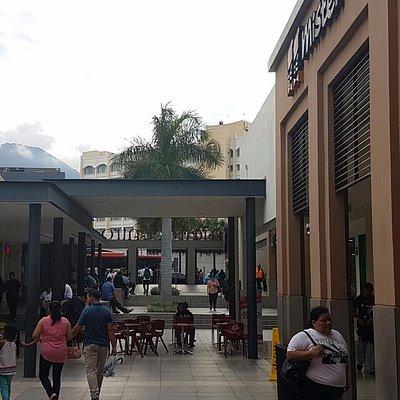 Open mall.