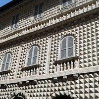 """Veduta solo da """"esterno"""" di Palazzo dei diamanti"""