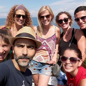 English teachers studying in Vallarta came to explore with us.