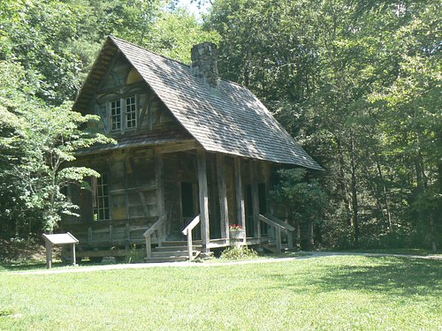 Early Forest Ranger Station