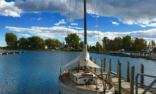 A section of Yacht Harbor at Ludington Park, Escanaba, MI