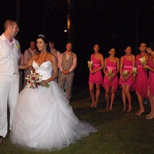 Australia. Wedding. At Thailand. A cut above. Make clothes