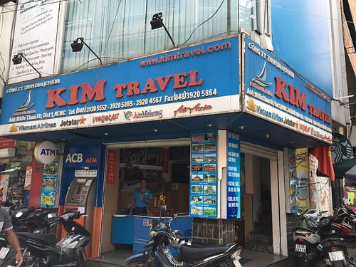 KIM TRAVEL OFFICE 189 DE THAM, DIST.1, HO CHI MINH CITY