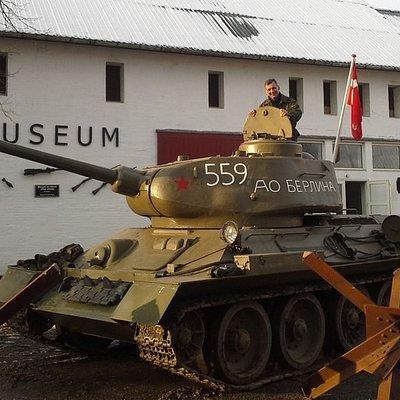 Rusisk kampvogn T34