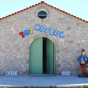 The entrance of Rhodes Toy Museum