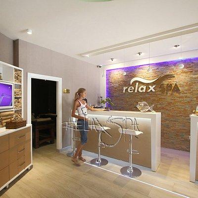 relax spa karşılama ve mini bar