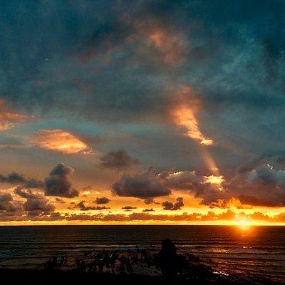 Sunset on Blackrock Beach