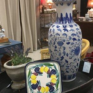 Lovely pottery vignette