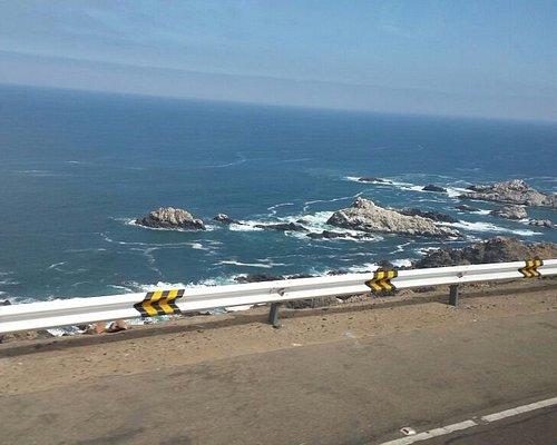 camino costero a Ilo