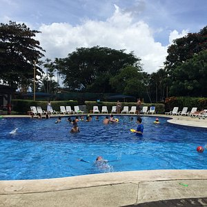 Great weather to enjoy the pool
