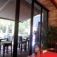 View to Outside Seating