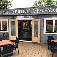 The Tasting Room at Hidden Spring Vineyard