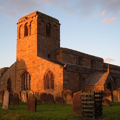 St Mary Leake at sunset