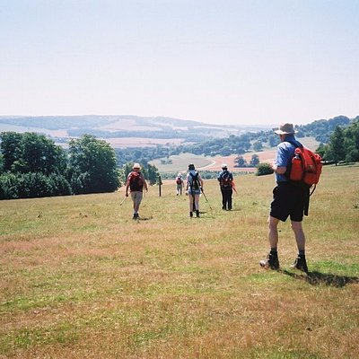 Chilham group walk- part of the Pilgrims' way walk & Discovering rural Kent