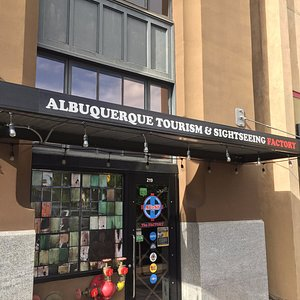 Come inside to purchase tickets for any AT&SF event, or inquire about Albuquerque tourism info
