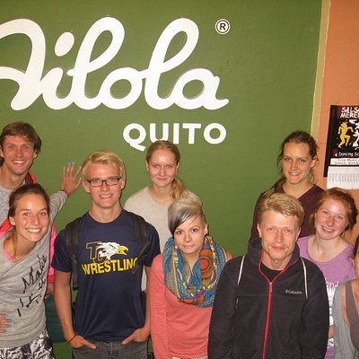 Ailola Quito Spanish School Students