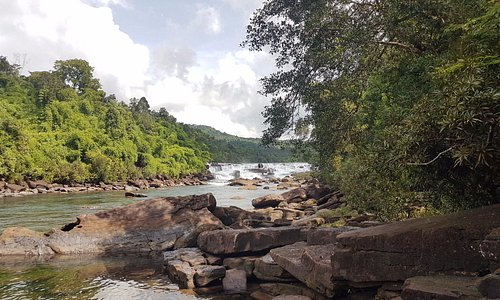 Tatai waterfall in Koh Kong