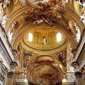 Chiesa del Gesu/ Ceiling