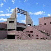 ASU Art Museum - approaching from the South