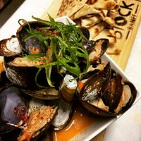 Mussels in Thai Curry