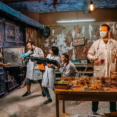 Quest: Secret Laboratory