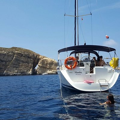 The Mambo is available for Charter from Med Sailing, Malta
