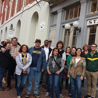 Lincoln Assassination & Civil War tour, outside Ford's Theater in downtown D.C.
