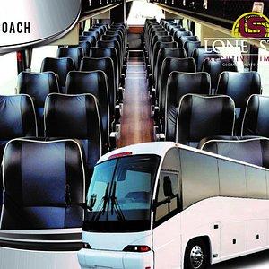 Luxury Motor Coach Bus