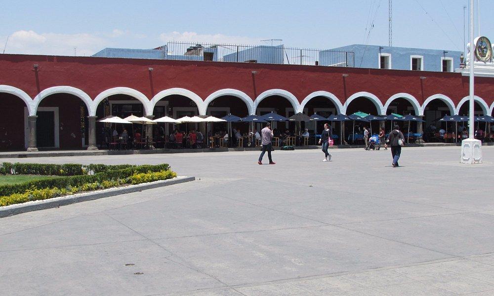 Centro de Cholula, Pue.