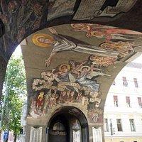 Hősök kapuja - Gate of heroes.