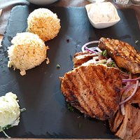 Gyros mit Steaks