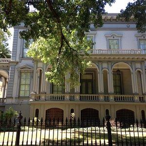 Historic Crocker Mansion, now an art museum