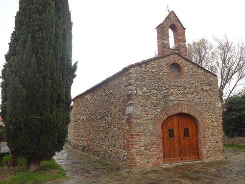 Chapelle Saint Sébastien, Thuir (Pyrénées-Orientales, Occitanie), France.