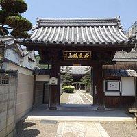静かなお寺でした。
