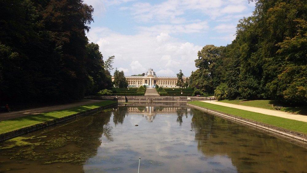 In Tervuren Park.