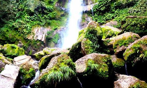 Catarata del Breo, ubicada en la ciudad de Juanjui en la región San Martín.