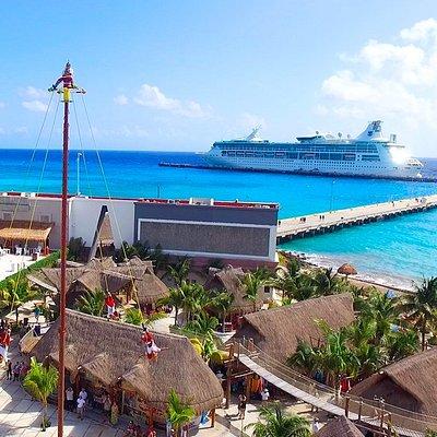 Bienvenidos a uno de los puertos de crucero más populares del Caribe en México