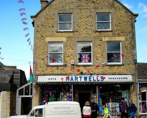 Shop front of Hartwells