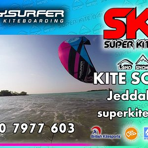 Call / WhatsApp 050 797 7603 or email superkiteday@gmail.com to book a course with us in Jeddah.