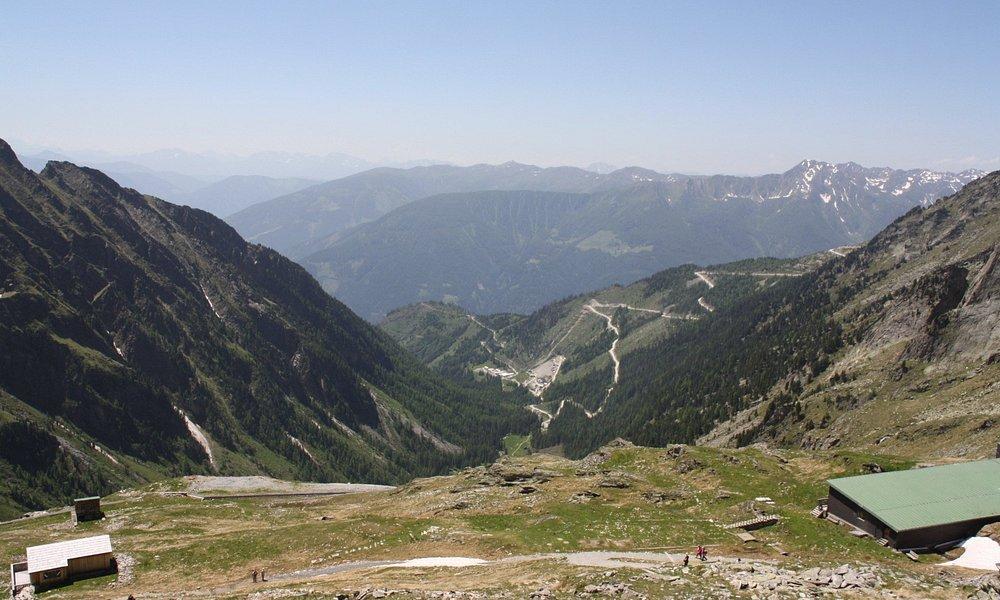 Uitzicht vanaf het plateau