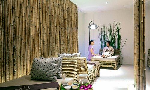 Treatment room at Cense by Spa Cenvaree in Jomtien, Pattaya