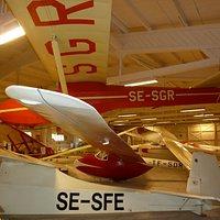 Ållebergs Segelflygmuseum i vartofta utanför Falköping