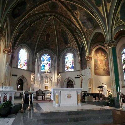 Altar where Jesus is present