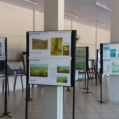 Interior do Centro Cultural Célia Stangherlin