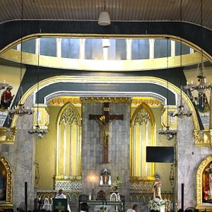 altar of the St. Martin of Tours Parish Church