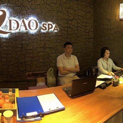 La Dao Spa Reception