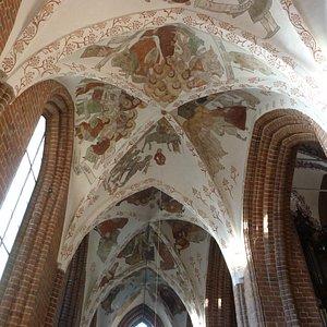 Taket i St Vincents kyrka i Helsingör