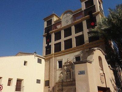 Iglésia conventual de Santa Clara la Real, Murcia (Huerta de Murcia, Murcia), Espagne.