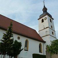 Kyrkan St. Burkhard i Geiselwind